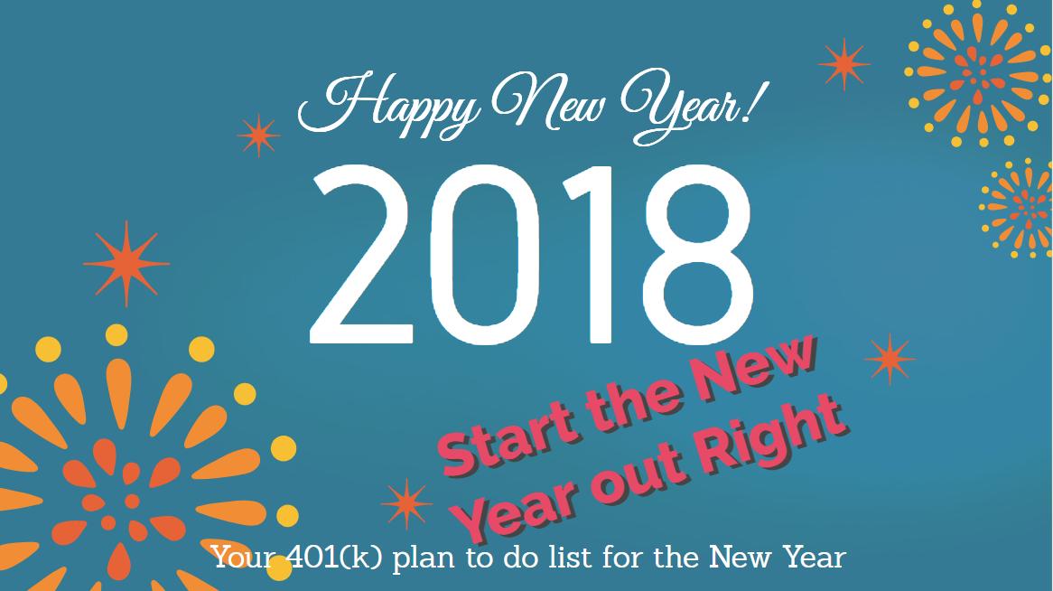 401k, 401k Checklist, 401k 2018